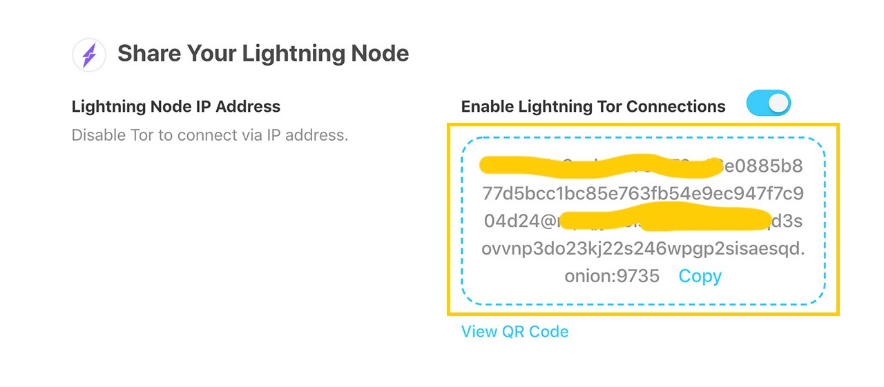 Casa - Lightning Address