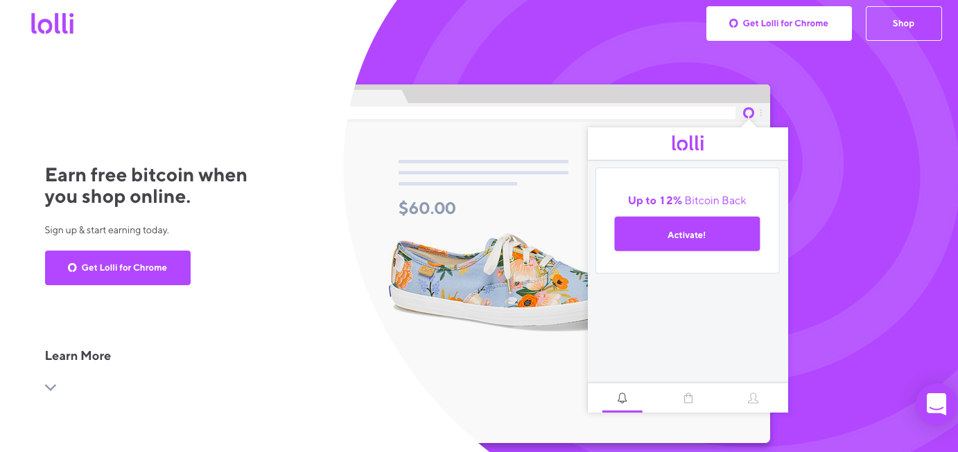 Lolli kripto reward app