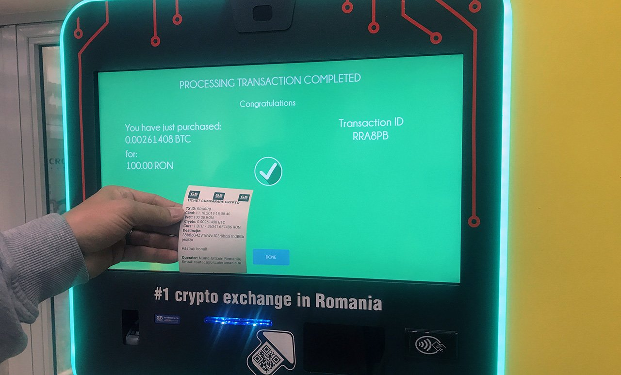 Buy Bitcoin in Romania